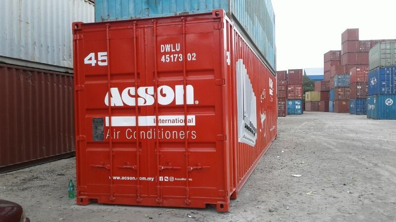 SKA-Container truck special made for customer